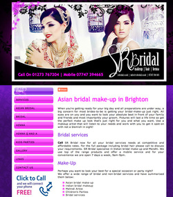 Asian Bridal make up artist Brighton